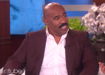 WHAT???!!! STEVE HARVEY BOUGHT HIS GRANDCHILDREN AN $8,500 TEEPEE