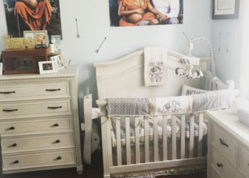 EVA MARCILLE TAKES US INSIDE OF HER SON'S NURSERY