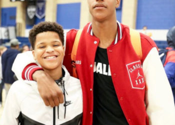 SHAQIR ONEAL IS FOLLOWING IN OLDER BROTHER'S FOOTSTEPS, TAKES HIGH SCHOOL BASKETBALL LEAGUE BY STORM