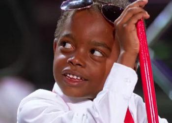 MEET 5-YEAR-OLD EVAN AND BEYONCE'S FUTURE DRUMLINE