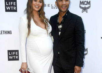 CHRISSY TEIGEN AND JOHN LEGEND ATTEND THE 4TH ANNUAL FASHION LOS ANGELES AWARDS