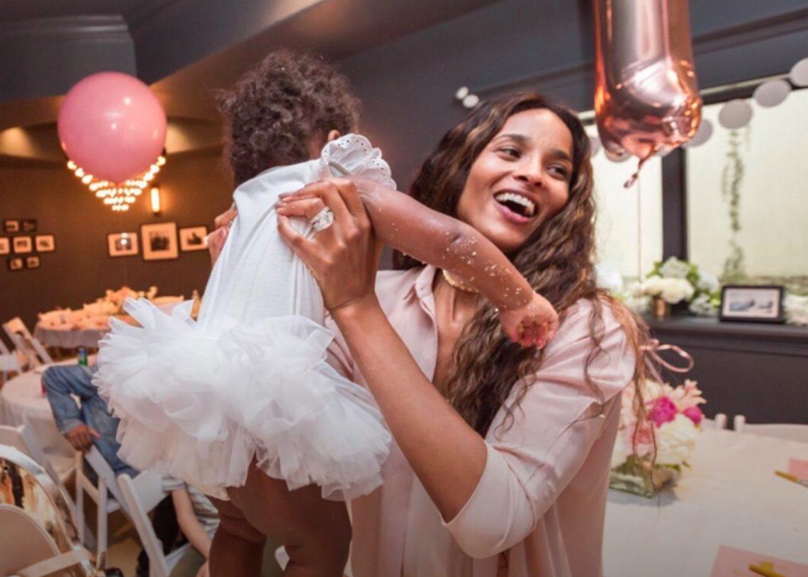 Sienna Wilson Celebrates Her First Birthday