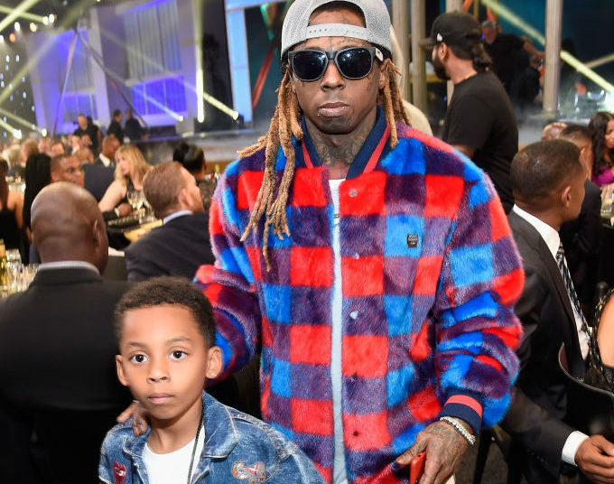 Admirable Lauren London And Lil Wayne Celebrate Their Sons 10Th Birthday Personalised Birthday Cards Petedlily Jamesorg