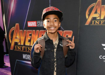 MILES BROWN, ISSAC BROWN , AND MORE ATTEND 'AVENGERS: INFINITY WAR' PREMIERE