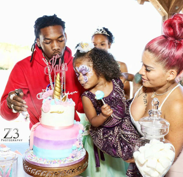 Magnificent Offset Celebrates Daughter Kaleas Birthday With A Unicorn Party Funny Birthday Cards Online Kookostrdamsfinfo