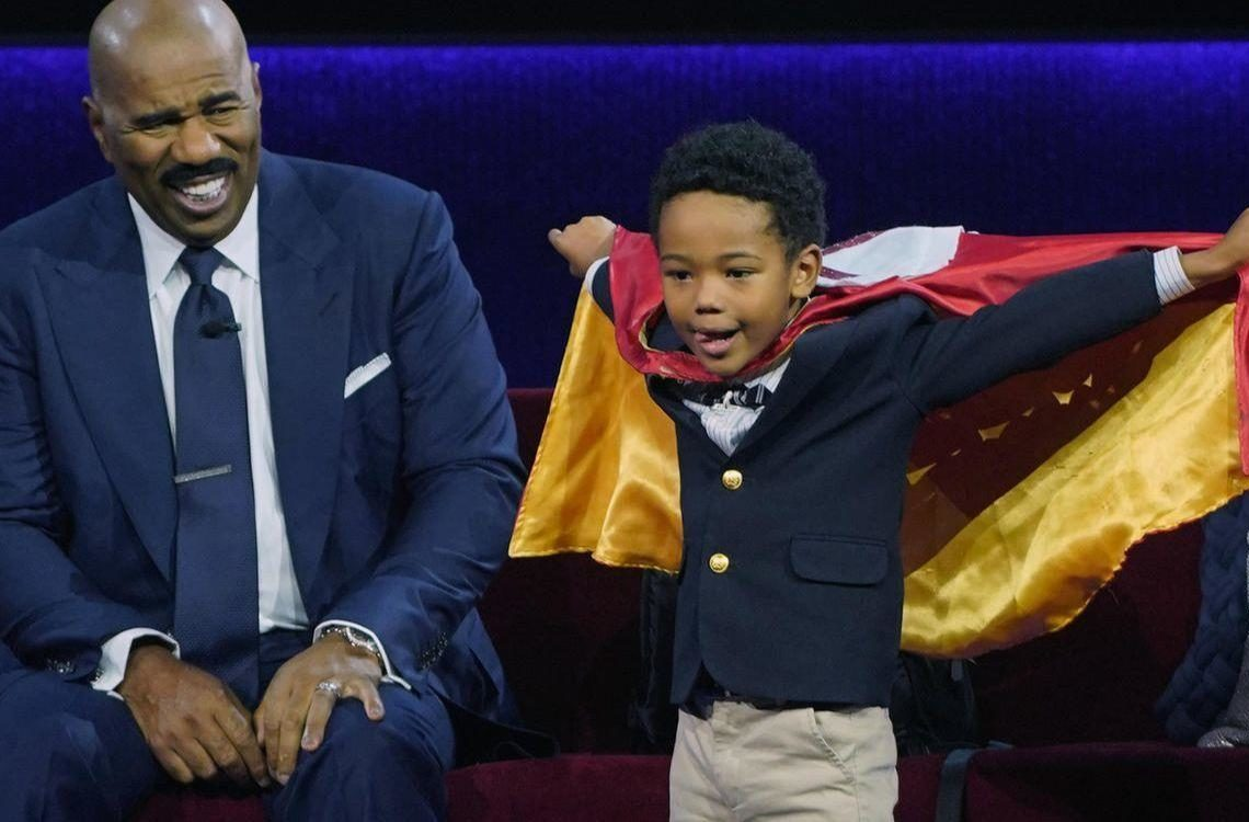 "SIX-YEAR-OLD FEATURED ON ""LITTLE BIG SHOTS"" FOR WORK WITH HOMELESS"