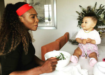 MOMMY AND ME: SERENA WILLIAMS, TAMEKA 'TINY' HARRIS AND MORE