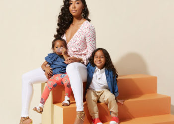 APRYL JONES, VANESSA SIMMONS LAUNCH SPECIAL SHOE COLLECTION FOR MOTHER'S DAY