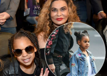 BLUE IVY CARTER ADORABLY SCOLDS HER GRANDMA FOR 'TAKING VIDEOS' AT THE BALLET IN PARIS