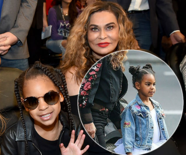 Tina Knowles Says Blue Ivy Carter Corrects At All Costs