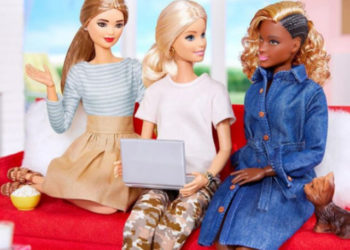 BLACK BARBIE WITH CORNROWS AND BLONDE WEAVE SPARKS CONTROVERSY ONLINE