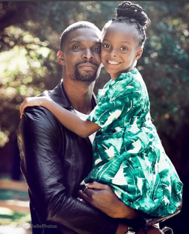 CHRIS BOSH ACCUSES DAUGHTER'S MOTHER OF FALSIFYING INFORMATION IN CHILD CUSTODY CASE