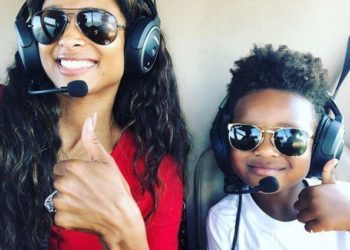 CIARA AND RUSSELL WILSON TREAT FUTURE ZAHIR TO A HELICOPTER RIDE FOR HIS 4TH BIRTHDAY