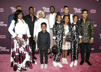 DIDDY AND THE FAMILY STOP BY VH1'S 'DEAR MAMA' SCREENING