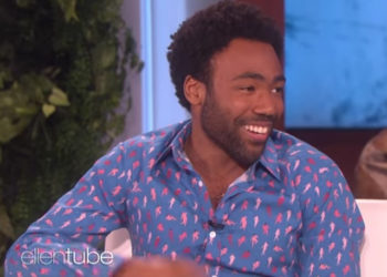 DONALD GLOVER GAVE HIS 'STAR WARS' ACTION FIGURE TO HIS SON