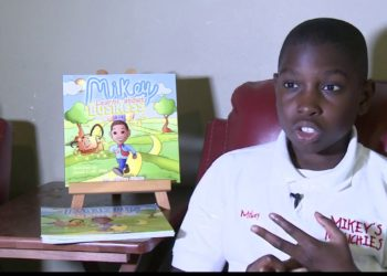 10-YEAR-OLD MIKEY WREN IS ALREADY A BUSINESS OWNER AND BEST-SELLING AUTHOR