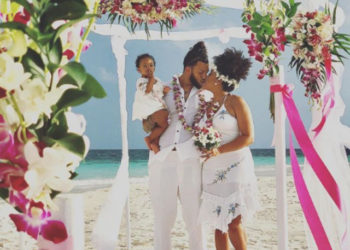 NATALIE NUNN AND JACOB PAYNE RENEW WEDDING VOWS WITH DAUGHTER BY THEIR SIDE