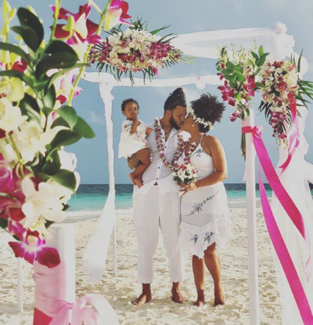 Natalie Nunn And Jacob Payne Renew Wedding Vows With Daughter By