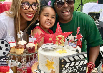 ALEX THOMAS AND WIFE CELEBRATE DAUGHTER'S THIRD BIRTHDAY