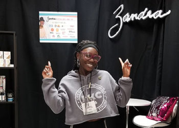 AT 17, ZANDRA CUNNINGHAM IS BRINGING BEAUTY TO TEENS WORLD-WIDE