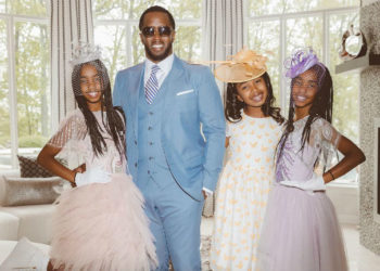 THE COMBS GIRLS ATTENDED THE KENTUCKY DERBY WITH THEIR DAD