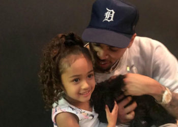 CHRIS BROWN SPENDS SOME QUALTIY TIME WITH DAUGHTER ROYALTY BROWN