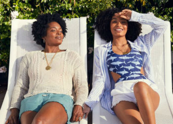 YARA SHAHIDI AND MOM TAKE CENTER STAGE IN NEW AERIE REAL CAMPAIGN
