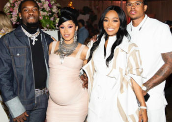 CARDI B CELEBRATES BABY SHOWER WITH FAMILY AND FRIENDS