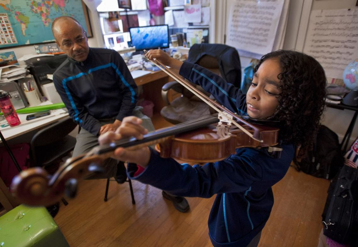9-YEAR-OLD MUSIC PRODIGY CAESAR SANT DEFIES THE ODDS DEFEATING STROKE AND PARALYSIS