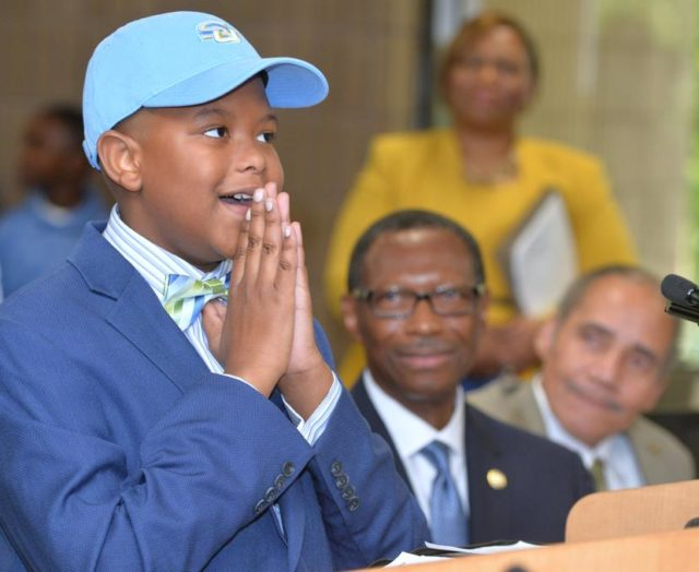 11-YEAR-OLD ELIJAH PRECCIELY IS HEADED TO COLLEGE!