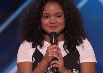 THIS YOUNGSTER'S VOICE IS A SHOW-STOPPER!