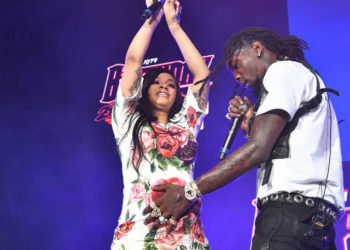 CARDI B PERFORMS WEEKS BEFORE HER DUE DATE, COVERS 'ROLLING STONE' WITH OFFSET