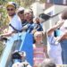 DRAYMOND GREEN, STEPHEN CURRY AND THEIR KIDS HAVE FUN AT THE WARRIORS PARADE