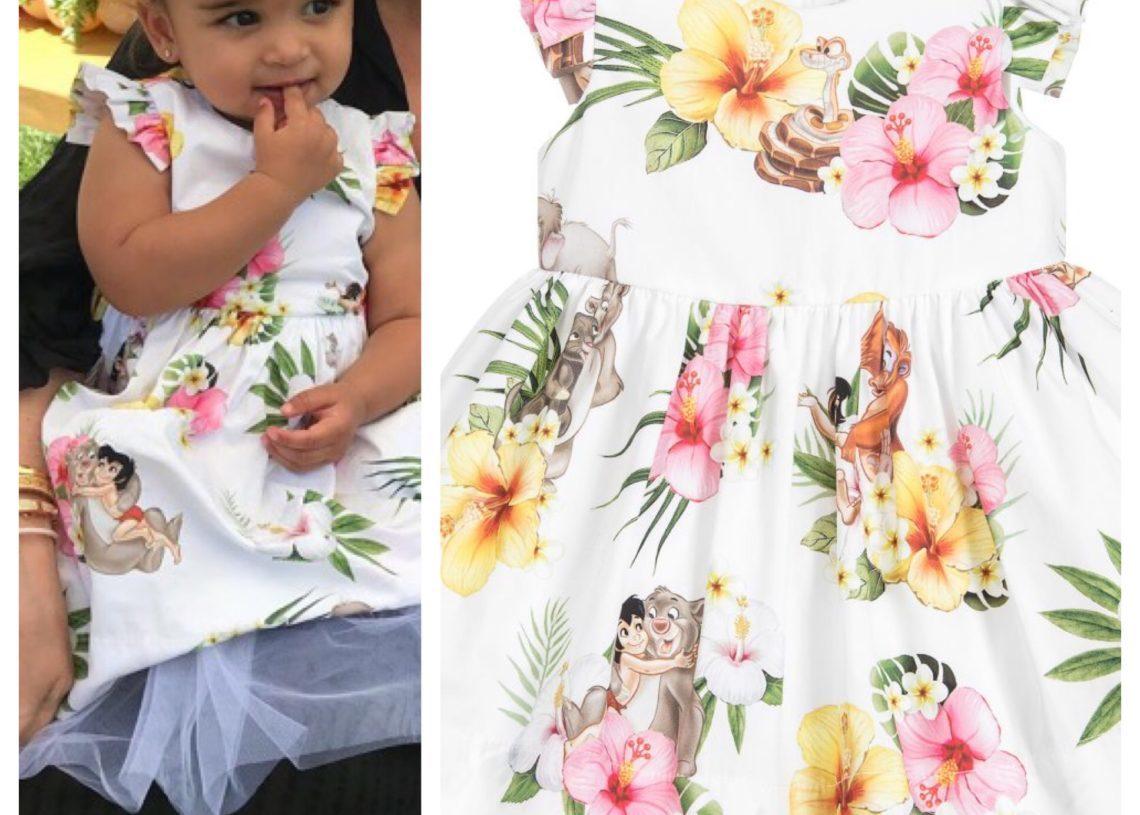 GET THE LOOK: DREAM KARDASHIAN'S JUNGLE BOOK DRESS