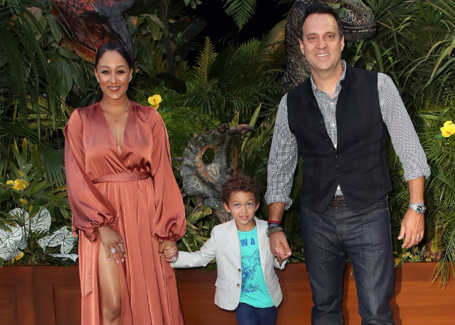 TAMERA MOWRY AND THE FAMILY STOP BY 'JURASSIC WORLD: FALLEN KINGDOM' PREMIERE IN LOS ANGELES