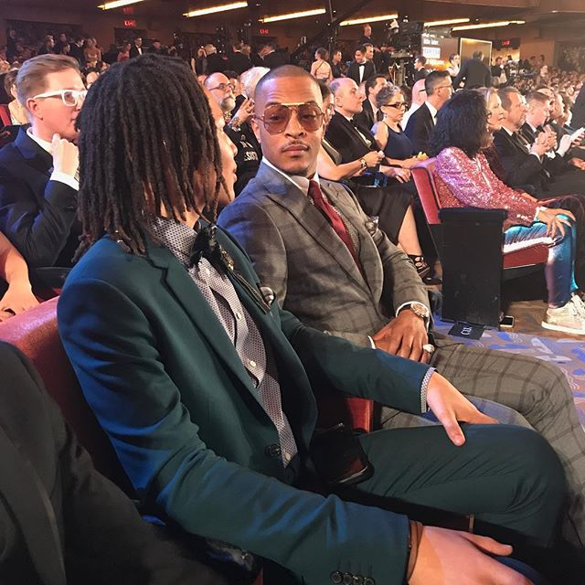 T.I. AND SON DOMANI HARRIS NOMINATED FOR BEST SCORE FOR 'SPONGEBOB SQUAREPANTS: THE MUSICAL'
