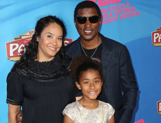 BABYFACE AND FAMILY ATTEND 'ON YOUR FEET!' MUSICAL IN HOLLYWOOD