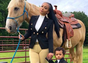 JORDAN CRAIG TAKES PRINCE THOMPSON ON HIS FIRST HORSEBACK RIDING ADVENTURE