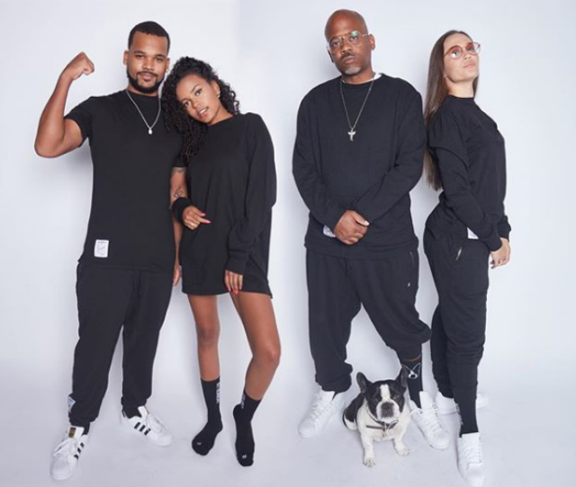 DAMON DASH AND HIS KIDS MODEL HIS NEW CLOTHING LINE