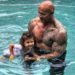 DWAYNE JOHNSON'S DAUGHTER HAD THE FUNNIEST REACTION TO HER SHIRTLESS DAD