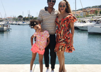 BEYONCE, JAYZ, AND BLUE IVY CARTER GO SAILING IN CANNES