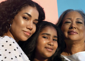 JHENE AIKO TALKS STRENGTH AND COMPASSION ALONGSIDE HER DAUGHTER AND MOTHER