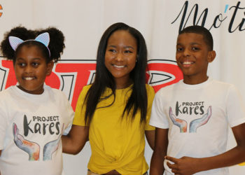 KHLOE THOMPSON AND JAHKIL JACKSON BRING THEIR 'COAST 2 COAST' CHARITY CAMPAIGN TO THE BRONX