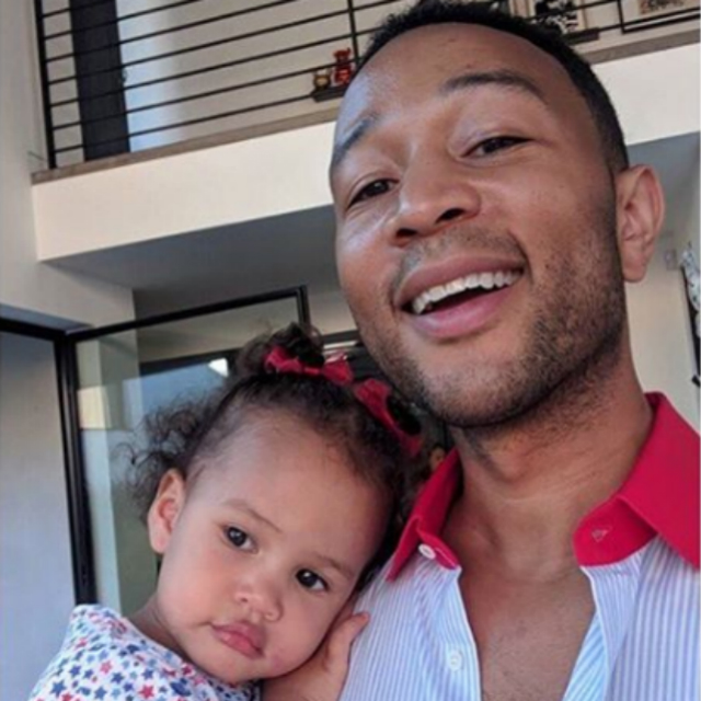 LUNA STEPHENS IS OVER HER DAD'S SINGING, WANTS MOM TO BREASTFEED HER DOLL
