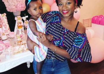 NATURI NAUGHTON CELEBRATES HER DAUGHTER'S FIRST BIRTHDAY