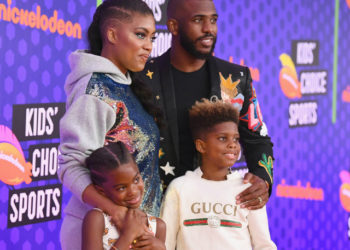 CHRIS PAUL SAYS HIS KIDS TOLD HIM TO HOST THE 2018 KIDS' CHOICE SPORTS AWARDS