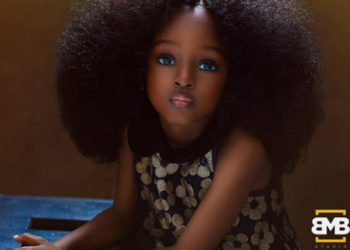 5-YEAR-OLD NIGERIAN GIRL DEEMED THE NEW 'MOST BEAUTIFUL GIRL IN THE WORLD'
