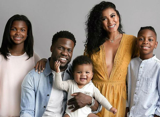 KEVIN HART HAS 'THE BEST GIFT EVER' IN HIS FAMILY