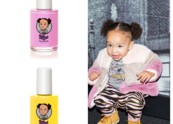 HEIRESS HARRIS HAS HER OWN NAIL POLISH COLLECTION