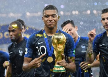 NINETEEN-YEAR-OLD KYLIAN MBAPPE HAS BECOME SOCCER'S NEWEST SHINING STAR